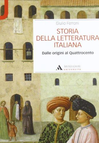Storia della letteratura italiana. Dalle origini al Quattrocento (Manuali) por Giulio Ferroni