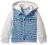 Rosie Pope Baby Boys Hooded Denim Jacket