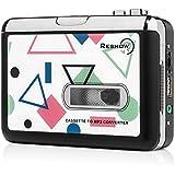 Meilleure Cassette / Convertisseur de Cassette en MP3 - Lecteur Audio Numérique Portable par Reshow / Compatible avec le chargeur mobile ou Power Bank / Câble USB & manuel d'utilisateur inclus