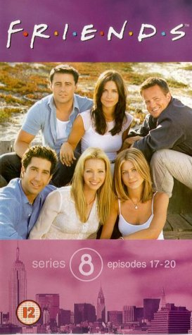 Click for larger image of Friends - Series 8 - Episodes 17-20 [VHS]