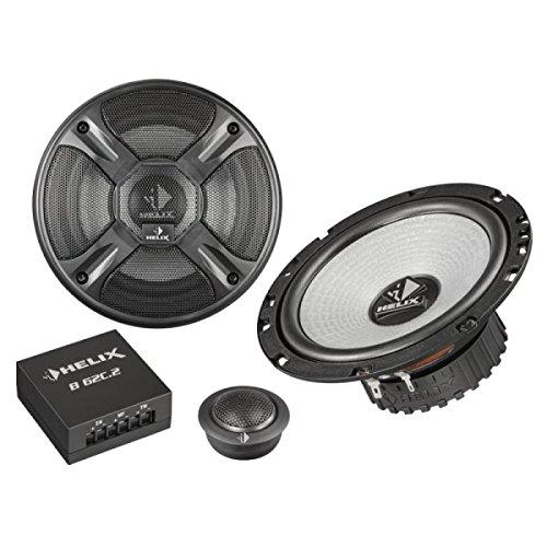 Helix 16,5cm 2-Wege Auto KFZ Lautsprecher / Boxen / Speaker 2-Wege Kompo B-62C.2 - 180 Watt Maximal Leistung - Helix Car Audio