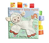 #8: Dwayne C Fabric Cloth Books Sheep Pattern Soft Books Baby's First Book Early Educational Toys for Toddler and Kids