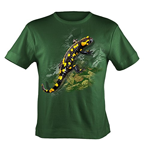 Bushfire T-Shirt Salamander Unisex - Erwachsene grün Grün