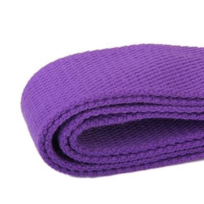 Sonline Lange Yoga Stretch Guertel Tauglichkeit Ausbildung Strap Guertel - Lila