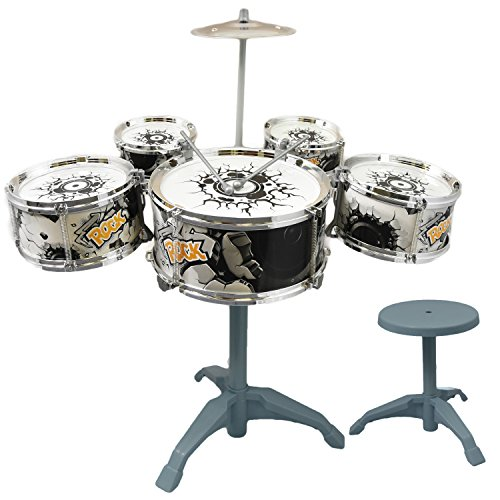 childs-my-first-drum-kit-play-set-drums-cymbal-musical-toy-instrument-with-stool
