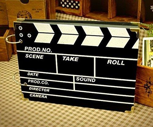 DISOK Album De Fotos Claqueta Cine Scrap Retro Film