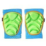 UICICI Kinder Skating Knieschützer Skating Knieschützer Ski Knieschützer Outdoor Sports Sicherheitsausrüstung Geeignet für Kinder im Alter von 0-8 (Color : Blue,...