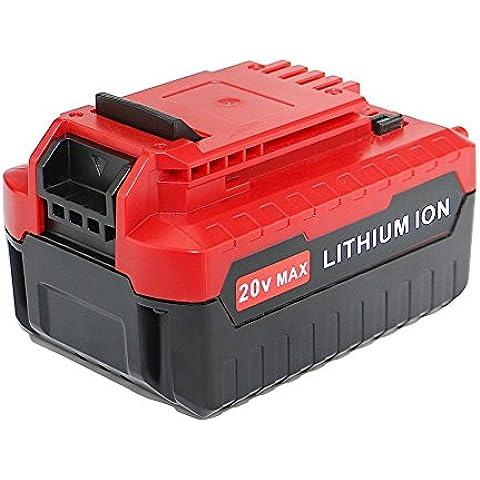Dtk® Accessori per utensili elettrici Pacchi batterie Batteria per Porter