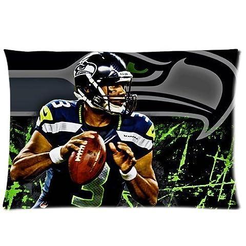 Custom Russel Willis Seattle Seahawks Football Pillowcase Pillow Covers Cases