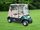 Trademark Innovations 7' Golf Cart Enclosure Cover for 2-Seater - Best Reviews Guide