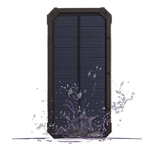 Pannello Solare Con Porta Usb : Caricabatterie solare power bank pannello mah