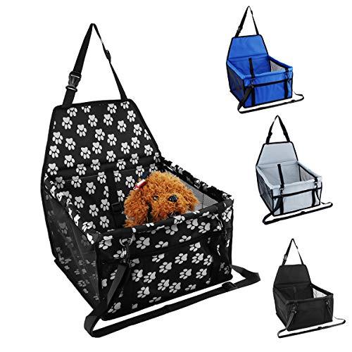JenNiFer Hängematte Käfig Auto Copilot Seat Pet Mat Tasche Reise Sitz Dog Protector Carrier Kissen Pad Wasserdicht - Pfoten - Subwoofer Käfig