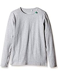 Fred's World by Green Cotton Alfa l/sl T NOOS - T-Shirt À Manches Longues - Uni - Garçon