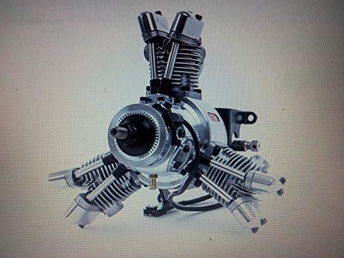 aero-naut Modellbau 710082 - Verbrennungsmotor - Saito FG 19R3, 19 CCM (Saito Motor)