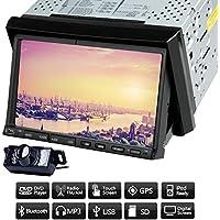 Autoradio RDS Auto Video Player Auto DVD CD VCD GPS PC Doppio Din Radio Receiver Hardware audio in precipitare BT Audio Car Stereo 7