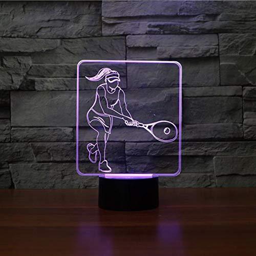 Nachtlicht USB Nachtlicht des Ritters mit 7 Farben Schlafbeleuchtung Schlafzimmer Dekoration Bar Nacht Kind Kollege Freund Gedenkgeschenk ()