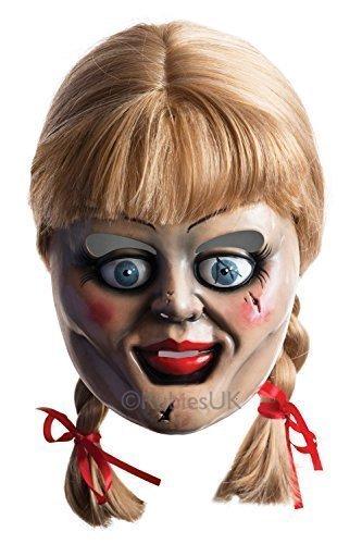 Annabelle 2 Maske und Perücke - aus Kunststoff, Einheitsgröße