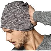 Kenmont Berretto Unisex Beanie Hat Sportivo uomo a maglia Copricapo Cap Hip-hop Cappello (grigio scuro)