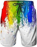 NEWISTAR Homme Short Bain Shorts Séchage Rapide Respirant Exercice Shorts Etanche