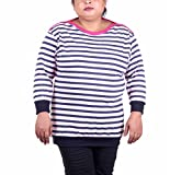 Vivid Bharti Woman's Cotton Striped Prin...