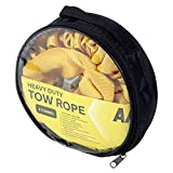 AA 5060114616226 Heavy-Duty, Strap-Style Tow Rope, Towing Belt for Vehicles, Yellow, Up to 4 tonnes