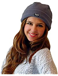 "Ladies Womens Winter Warmers ""Blue Sky Beauty"" - Quality Thinsulate Matching Fleece Hat & Glove Set – Perfect for Winter Days! - Select Size: 'Small' (Child/Teen) 'Medium' (Adult)"