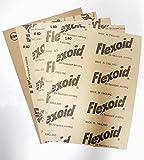 FLEXOID Set di carta per guarnizioni con 5fogli A4-vari spessori da 0,15mm a 1,6mm