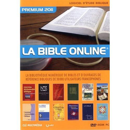 La Bible online premium 2011 : Logiciel biblique