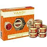 Vaadi Herbals Saffron Skin Whitening Facial Kit with Sandalwood Extract, 270g