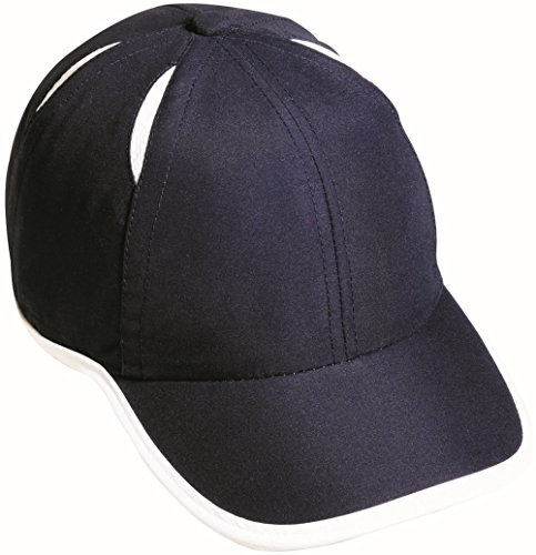 myrtle beach 6 Panel Micro-Edge Sports Cap in navy/white Größe: one size