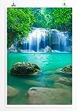 EAU ZONE Home Bild - Landschaft Natur - Erawan Wasserfall