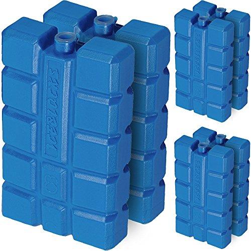 6 Stück Kühlakkus Kühlakku 12h Akkus Kühltasche Kühlbox Eisbox Kühlpack Kühlelement
