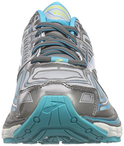 Brooks Glycerin 13 W, Scarpe da Corsa Donna Grigio (Grau (MetallicCharcoal/BlueBird/SharpGreen))