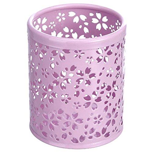 Oyfel forniture ufficio rangement fiore di ciliegio stile giapponese creux in metallo rosa per bambini ragazza 1pcs 10.5 * 8cm rosa