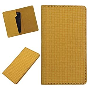 DCR Pu Leather case cover for iPhone 4 / 4S (yellow)