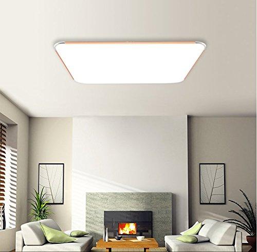 MCTECH 12W LED luce di soffitto Ultraslim moderna plafoniera disimpegno camera da letto della lampada soggiorno energia cucina risparmio applique da parete luce di colore bianco caldo d'argento