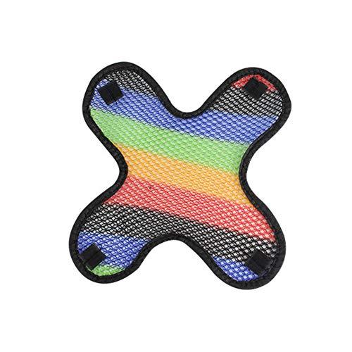 TARTIERY Cooling Pad für Motorradhelm 3D Mikrofaser Cooling Air Mesh Helme Cool Pad Hitzebeständige atmungsaktive Dichtung Air-mesh-liner