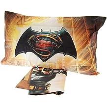 Caleffi–Colcha para cama colcha impresión Digital Batman Vs Superman 100% algodón