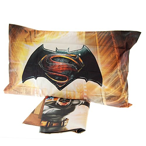 Bettwäsche Tagesdecke Digitaldruck Caleffi Batman Vs Superman 100% Baumwolle (Thor Man Iron Vs. Avengers)