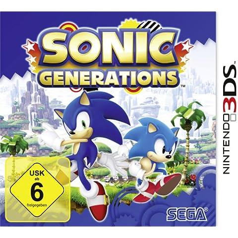 Sonic Generations 3DS [Importación alemana]