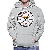 Sraw Hat Pirates One Piece Converse All Star Men's Hooded Sweatshirt