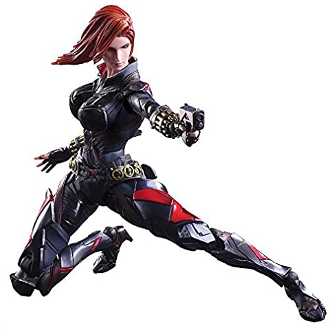 Marvel Comics Variant Play Arts Kai Figura Black Widow 26 cm by Square Enix