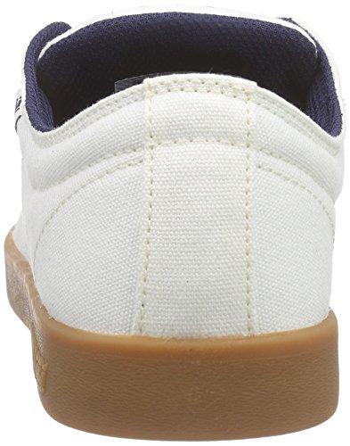 Supra Stacks Ii, Sneakers Basses mixte adulte Blanc (OFF WHITE - GUM OWG)