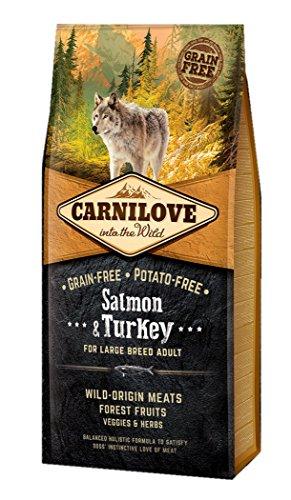 CARNILOVE Salmone e Tacchino Grain Free Potato Free 12 kg