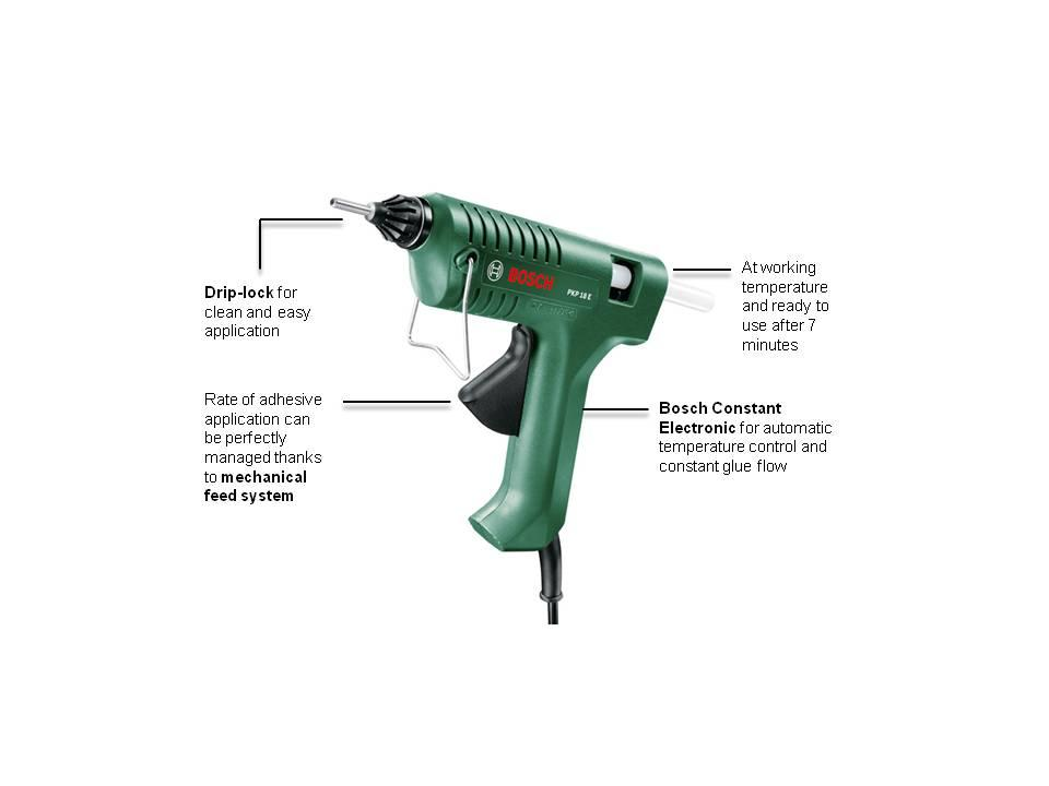 bosch pkp 18 e glue gun diy tools. Black Bedroom Furniture Sets. Home Design Ideas