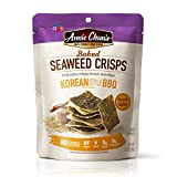 Annie Chun's Baked Seaweed Crisps, Korean BBQ Flavor, 1.27-ounce (10-Pack), Vegan and Gluten- Amazon Rs. 7865.00