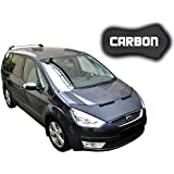 Black Bull Ford S-Max Galaxy CARBON Car Bra Masque voiture Protège Bonnet Tuning NEW