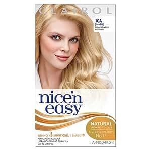 Clairol Nice 'n Easy Permanent Hair Colour - 88 Natural Ultra Light Ash Blonde