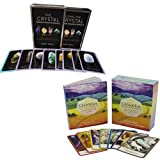 Crystal Wisdom Healing Oracle [Cards] and Chakra Wisdom Oracle Cards 2 Books Bundle Collection - The Complete Spiritual Toolkit for Transforming Your Life