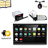 """Android 8.0 2GB RAM 10.1"""" Double Din Universal Upgraded Car Stereo Head Unit"""